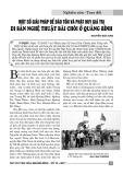 Một số giải pháp để bảo tồn và phát huy giá trị Di sản nghệ thuật bài chòi ở Quảng Bình