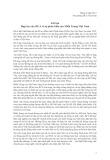 Lời tựa hợp tác của JICA vì sự phát triển của Miền Trung Việt Nam