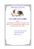 SKKN: Một số biện pháp gây hứng thú cho trẻ 5-6 tuổi  nhằm nâng cao chất lượng giáo phát triển ngôn ngữ