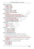 Câu hỏi và bài tập trắc nghiệm Vật lý lớp 12 chương 9