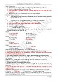 Câu hỏi và bài tập trắc nghiệm Vật lý lớp 12 chương 7