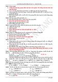 Câu hỏi và bài tập trắc nghiệm Vật lý lớp 12 chương 8