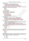Câu hỏi và bài tập trắc nghiệm Vật lý lớp 12 chương 2