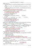 Câu hỏi và bài tập trắc nghiệm Vật lý lớp 12 chương 6