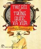 Ebook Thư gửi về Trung Quốc xa xưa: Phần 2