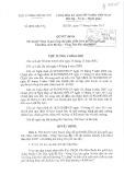 Quyết định số 870/2015/-TTg