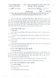 Kế hoạch số 2646/KH-UBND
