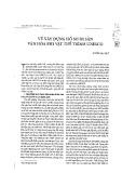 Về xây dựng hồ sơ di sản văn hóa phi vật thể trình UNESCO