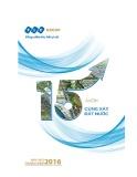 Báo cáo thường niên 2016: 15 năm cùng xây đất nước - Công ty Cổ phần Tập đoàn FLC