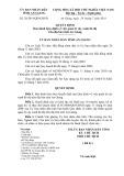 Quyết định số 28/2014/QĐ-UBND