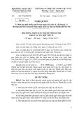Dự thảo Nghị quyết Về thời hạn phê chuẩn quyết toán ngân sách cấp xã, cấp huyện và thời hạn gửi báo cáo quyết toán ngân sách các cấp của thành phố Hà Nội
