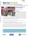 Bản tin Tri thức: Quản lý Rủi ro Thiên tai ở Đông Á và khu vực Thái bình dương