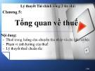 Bài giảng Lý thuyết Tài chính công: Chương 5 - Trương Minh Tuấn