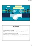 Bài giảng Marketing thương mại: Chương 1 - Nguyễn Ngọc Bích Trâm