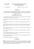 Quyết định số 1191/QĐ-BXD