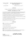 Quyết định số 661/QĐ-UBDT
