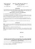 Quyết định số 1250/QĐ-UBND năm 2017