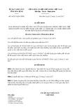 Quyết định số 44/2017/QĐ-UBND tỉnh Hòa Bình
