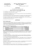 Quyết định số 10/2017/QĐ-UBND TP Cần Thơ