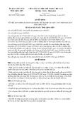 Quyết định số 59/2017/QĐ-UBND tỉnh Lạng Sơn
