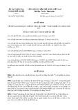 Quyết định số 40/2017/QĐ-UBND TP Hà Nội