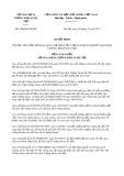 Quyết định số 958/QĐ-SGDHN