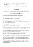 Quyết định số 35/2017/QĐ-UBND tỉnh Bắc Giang