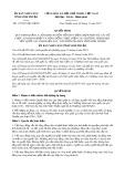 Quyết định số 117/2017/QĐ-UBND