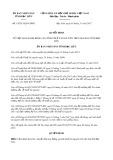 Quyết định số 19/2017/QĐ-UBND tỉnh Bạc Liêu