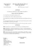 Quyết định số 36/2017/QĐ-UBND tỉnh Sơn La