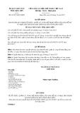Quyết định số 61/2017/QĐ-UBND tỉnh Lạng Sơn