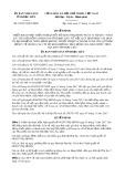 Quyết định số 23/2017/QĐ-UBND tỉnh Bạc Liêu