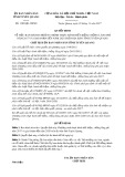 Quyết định số 1389/QĐ-UBND