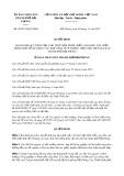 Quyết định số 26/2017/QĐ-UBND TP Hải Phòng