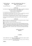 Quyết định số 38/2017/QĐ-UBND tỉnh Bắc Kạn