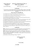 Quyết định số 65/2017/QĐ-UBND tỉnh Bến Tre