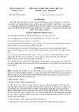 Quyết định số 28/2017/QĐ-UBND tỉnh Cà Mau
