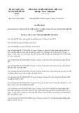 Quyết định số 62/2017/QĐ-UBND TP HCM