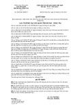 Quyết định số 1087/QĐ-HQBRVT