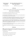 Quyết định số 34/2017/QĐ-UBND tỉnh Đắk Lắk