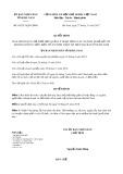 Quyết định số 45/2017/QĐ-UBND