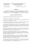 Quyết định số 43/2017/QĐ-UBND tỉnh Tây Ninh