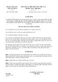 Quyết định số 32/2017/QĐ-UBND tỉnh Nam Định