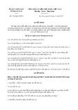 Quyết định số 1194/QĐ-UBND