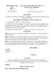 Quyết định số 501/QĐ-VKSTC năm 2017