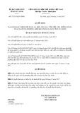 Quyết định số 37/2017/QĐ-UBND tỉnh Tây Ninh
