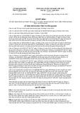 Quyết định số 20/2017/QĐ-UBND tỉnh Tuyên Quang