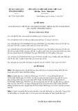 Quyết định số 27/2017/QĐ-UBND tỉnh Bình Dương