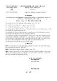 Quyết định số 97/2017/QĐ-UBND