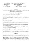 Quyết định số 31/2017/QĐ-UBND tỉnh Quảng Trị